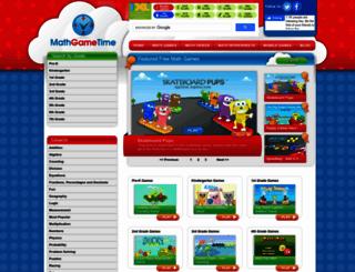 mathgametime.com screenshot