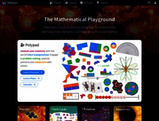 mathigon.org screenshot