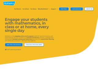 mathletics.ca screenshot