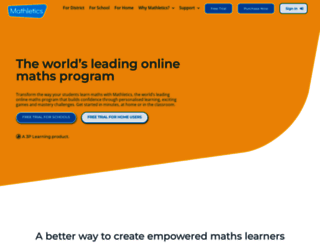 mathletics.co.uk screenshot