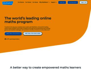 mathletics.ie screenshot