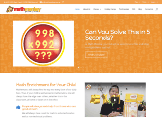 mathmonkey.com.sg screenshot