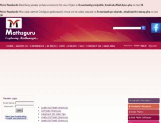 mathresources.net screenshot
