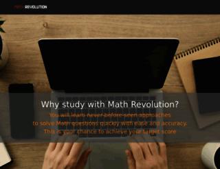 mathrevolution.com screenshot