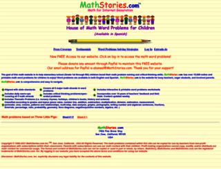 mathstories.com screenshot