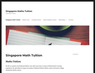 mathtuition88.wordpress.com screenshot