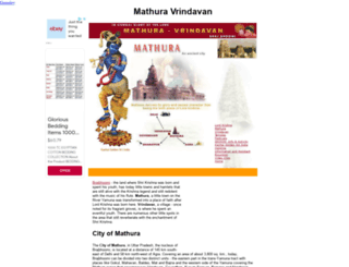 mathura-vrindavan.com screenshot