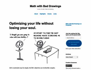 mathwithbaddrawings.com screenshot