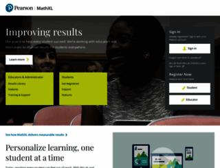 mathxl.com screenshot