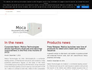 maticasystem.com screenshot