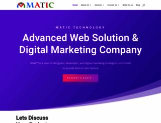 matictechnology.com screenshot
