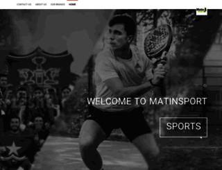 matinsport.com screenshot