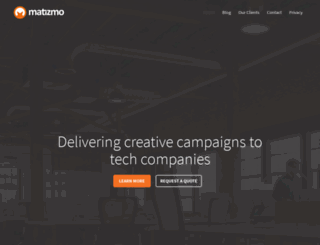 matizmo.co.uk screenshot
