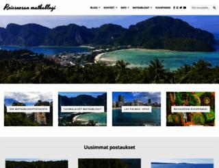 matkafoorumi.fi screenshot