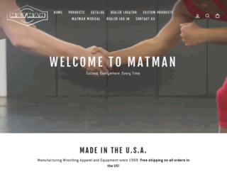 matmanwrestling.com screenshot