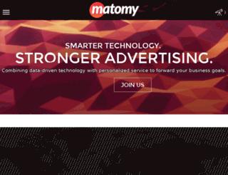 matomymedia.com screenshot