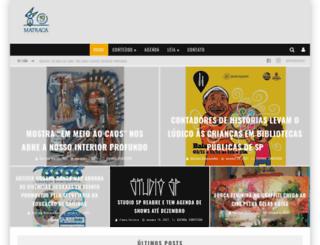 matracacultural.com.br screenshot