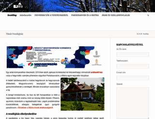 matraiszallas.eu screenshot