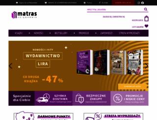 matras.pl screenshot