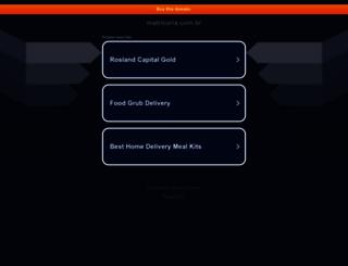 matricaria.com.br screenshot