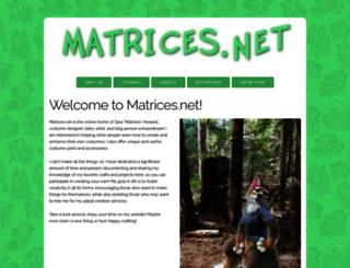 matrices.net screenshot
