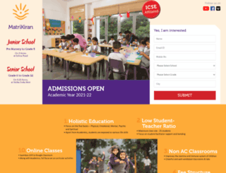 matrikiran.com screenshot