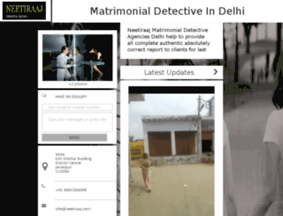 matrimonialdetective.net screenshot