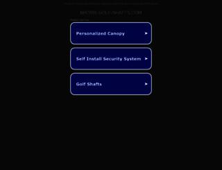 matrix-golf-shafts.com screenshot