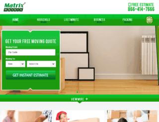 matrix-movers.net screenshot