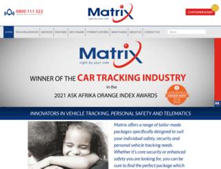 matrix.co.za screenshot