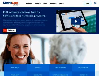 matrixcare.com screenshot