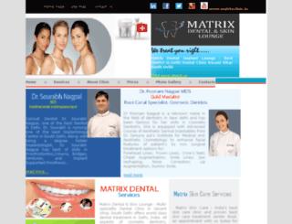 matrixclinic.in screenshot