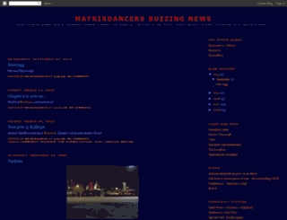 matrixdancer.blogspot.com screenshot