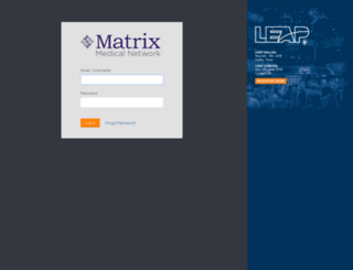 matrixhealth.attask-ondemand.com screenshot