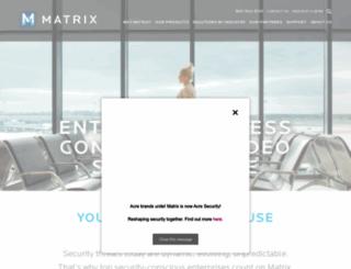matrixsys.com screenshot