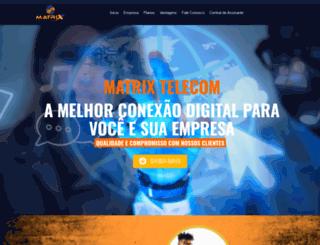 matrixtelecom.com.br screenshot
