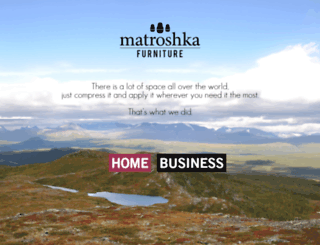 matroshkafurniture.com screenshot