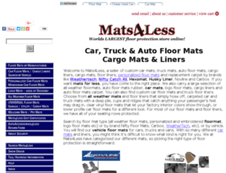 mats4less.com screenshot