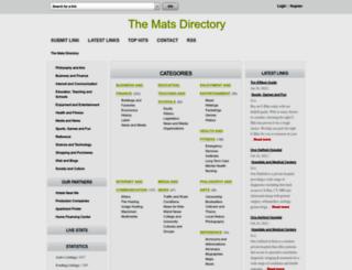 matsemp2010.org screenshot