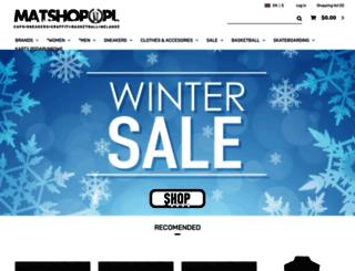 matshop.pl screenshot