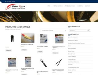 matsupesca.com.br screenshot