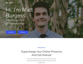matt-burgess.com screenshot