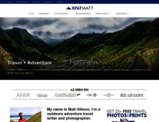 matt-gibson.org screenshot