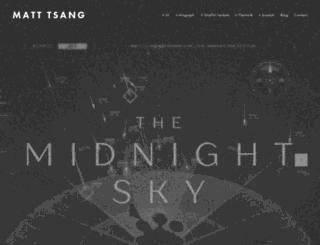 matt-tsang.tv screenshot