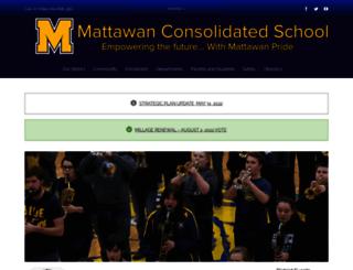 mattawanschools.schoolwires.net screenshot