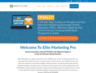 mattbaran.elitemarketingpro.com screenshot