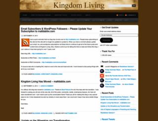 mattdabbs.wordpress.com screenshot