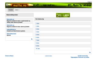 matte.no screenshot