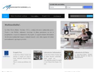 matteogiordanosrl.it screenshot