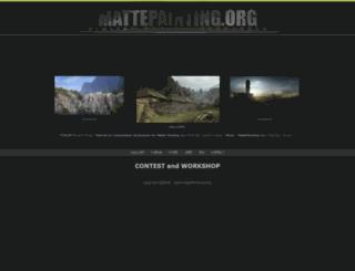 mattepainting.org screenshot